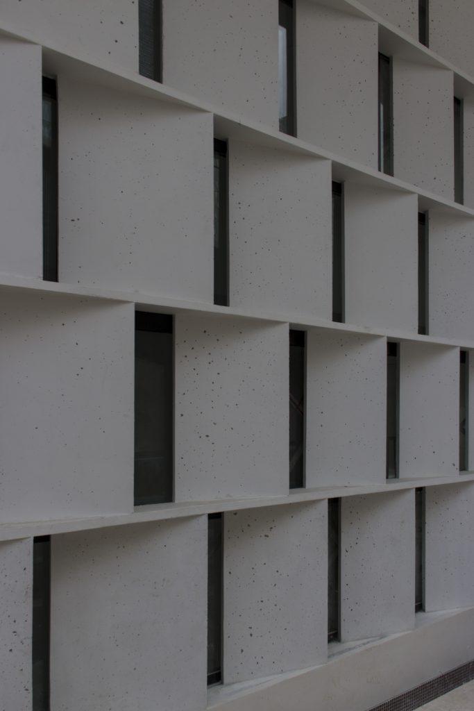 Sedaghatpisheh Villa, astalak, precast concrete, white concrete, vav studio
