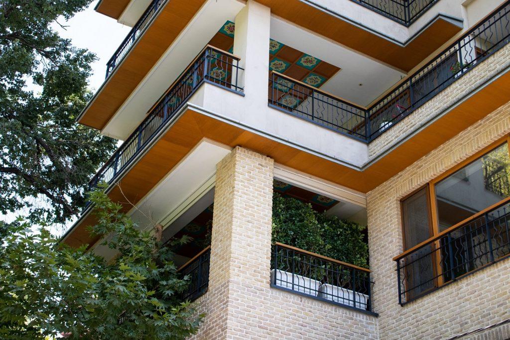 Rojdeh Residential, Green Tower, Behrouz Bayat, Persian classic apartment